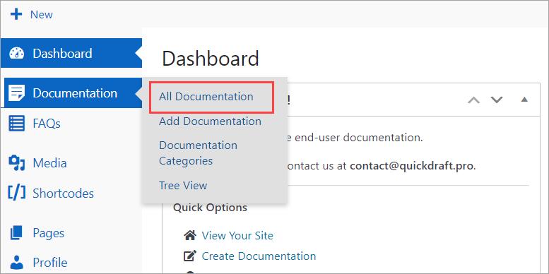 All Documentation